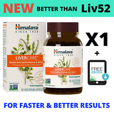 LiverCare 90 Caps (NEW) - AN UPGRADE OF LIV.52 - Liver Detox & Cleanse