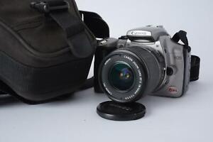 Canon EOS Digital Rebel + 18-55 EFS zoom lens