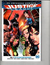 Justice League Vol. # 1 The Extinction Machines DC Comics Graphic Novel J296