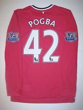 c8c51449e 2011 2012 Manchester United Nike Paul Pogba  42 Shirt Kit Jersey Juventus  France