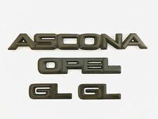 Emblem Embleme Opel Ascona C, CC Cabrio, Limo