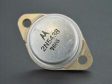 2N5438 - Germanium PNP Transistor - 80V 120W 60A TO3 - Motorola *NEW OLD STOCK*