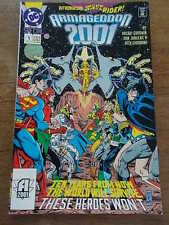 1991 DC Comics Special Number 1 ARMAGEDDON 2001 Wave rider 10 years from now
