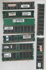 COMPUTER VINTAGE - NOVE (9) BANCHI MEMORIA RAM ASSORTITI VARI (COME IN FOTO)