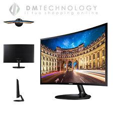 """SAMSUNG Monitor PC Curvo 24"""" C24F390 1920x1080 full hd hdmi entrata audio cuffie"""