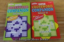2 NEW Super Crossword Companion Vol 50-51 ~Kappa Crosswords~ 73 Puzzles Per Vol
