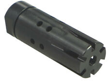 "2 Piece Muzzle Device / Compensator w/ Adapter for 1/2""-28, M14x1 LH.....5 Sizes"