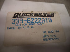 Mercury Marine Quicksilver OEM NEW switch box 339-6222A10  #7451