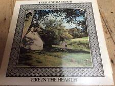 Freeland Barbour fuego en el hogar 1977 Rel Records 462 Scottish acordeón