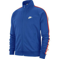 NIKE N98 Tribute Track Jacket [AR2244-480] Royal Blue/White [Multiple Sizes]