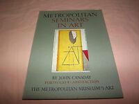 VINTAGE 1958 MOMA  METROPOLITAN SEMINARS IN ART  JOHN CANADAY PORTFOLIO 4 BOOK