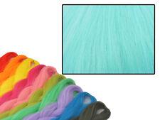 CYBERLOXSHOP PHANTASIA KANEKALON JUMBO BRAID AQUA SKY BLUE HAIR DREADS