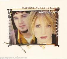 SIXPENCE NONE THE RICHER - There She Goes (UK 3 Tk CD Single)