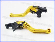 Buell 1125R (08-09), CNC lever short gold/black adjusters, F14/C777