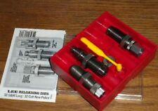 Lee Carbide 3-Die Set 32 S&W Long / 32 Colt New Police   # 90624   New!