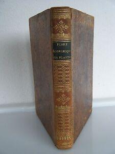 1803, BOTANIQUE-FLORE DE PARIS-Flore naturelle et économique des plantes Paris