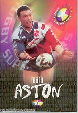 1998 United Kindom Rugby Superstars Jumbo Card Set (24) (Missing #9)