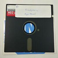 "Translyvania - Home Copy - 5.25 Floppy Disks 5 1/4"" Vintage Computer Game"