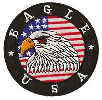 Patche écusson thermocollant transfert USA Eagle patch brodé