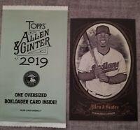 2019 Topps Allen & Ginter Francisco Lindor Cabinet Oversized Box Loader Card