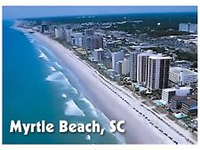 Flexible Fridge Magnet Photo Of MYRTLE BEACH IN SOUTH CAROLINA
