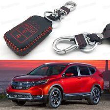 Car Remote Control Key Case Bag Cover Holder Leather for Honda CR-V 2015-2017 16