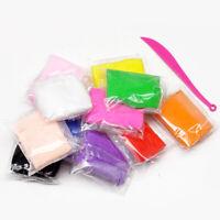 12 Colors DIY Super-Light Clay Slime Modeling Plasticine Sculpting Toys Kids