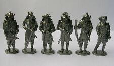 Soldatini kinder figurines en metal Samurai 40mm ferro