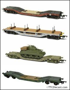 Oxford Rail Warwell Wagons, Various options available inc Sherman tank. U Choose