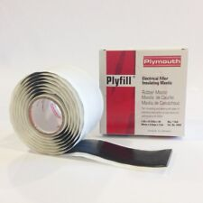Mastic Plymouth Rubber Plyfill 2644 1 12 X 5ft Roll Of Rubber Mastic Tape