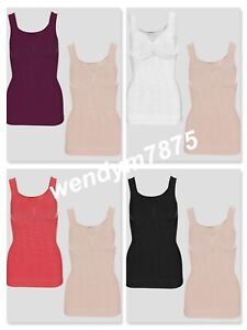Vercella Vita Medium Control Jacquard Cami with Strong Bust Control Pack of 2