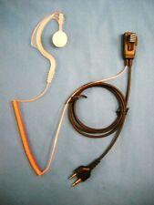 Ear Bud Headset Microphone For Icom T7H 4088A 4008 IC-T90A U16 U12 M5 J12 Cobra
