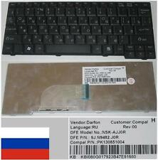 CLAVIER QWERTY RUSSE GATEWAY LT20 LT2000 NSK-AJJ0R 9J.N9482.J0R PK130851004 Noir