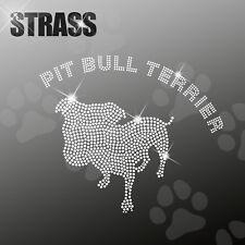 AMERICANO Pit Bull pitbull M1 CANE APPLICAZIONE FERRO STIRO hotfix 22cm largo