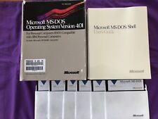 Vintage PC Software: DOS 4.01 Operating System (1988) Original Packaging. RARE!