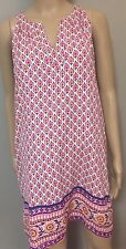 NWT Purple Floral Sleeveless Shift  Dress By Diane Von Furstenberg Sz 8
