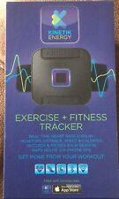 KINETIC eft1 Esercizi Fitness Tracker-Nero