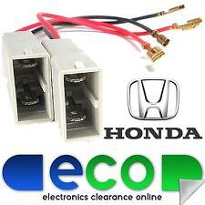 HONDA JAZZ 2001 - 2008 Porta Auto Altoparlante Adattatore connettori a spina Lead Wire