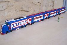 Lego custom , Train Santa Fe Super Chief - 10020 x1 ; 10025-2  x2  10022-2  x1 .