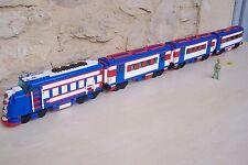 Lego custom , Train Santa Fe Super Chief - 10020 ; 10025-2  x2  10025-2