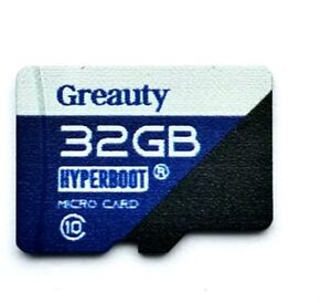 32gb Micro Card Highest Speed Ample Genuine Space fit to Micro SD Mobile Slots