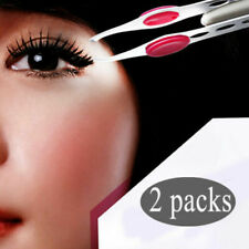 New 2x Portable Tweezer With LED Light Hair Removal Eyebrow Beauty Make Up Tool