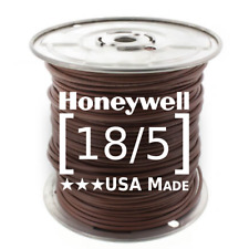 Honeywell Genesis 18/5 Thermostat Wire 250' Roll #4713 18 AWG 5 Solid Conductors
