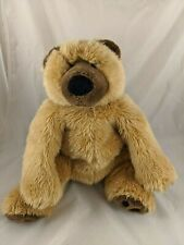 """Bear Plush 16"""" Brown Tan Channel Toy Ltd Stuffed Animals"""