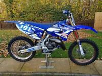 YAMAHA YZ125 2015 MOTOCROSS MX BIKE + RINALDI HARDCORE RACE KIT -VERY LITTLE USE