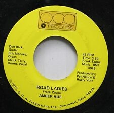 Rock 45 Amber Hue - Road Ladies / The Last Blues Song On Qca Records