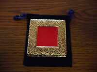 ESTEE LAUDER 0.22oz GILDED FRAME LUCIDITY COMPACT NEW IN POUCH NO BOX