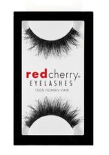 Red Cherry BERKELEY wispy #605 falsche schwarz Echthaar-Wimpern strip lash