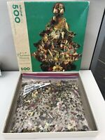 Springbok A Christmas Memory Tree 500 piece Jigsaw Puzzle Complete