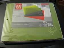 """Kitchen Living Four Piece Flexible Cutting Boards, New, Color Coded 15"""" X 12"""" ea"""
